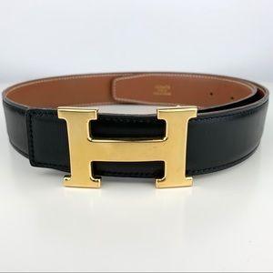 Hermès Reversible Leather Belt